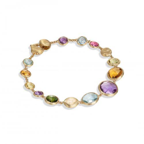 Marco Bicego Armband mit bunten Edelsteinen Mix Gold Jaipur Color BB2160 MIX01 Y