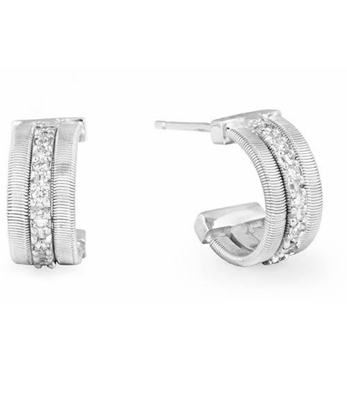 Marco Bicego Ohrringe Weißgold mit Diamanten Goa OG329-B | Schmuck Sale | Uhren-Lounge