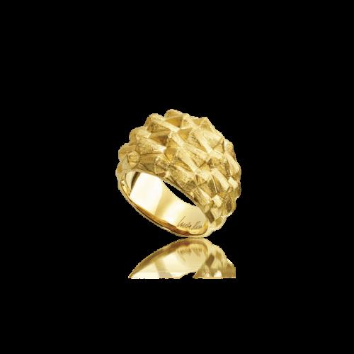 Luisa Rosas Essences Ring Water Gold 18 Karat LRES047