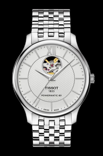 Tissot Tradition Powermatic 80 Open Heart (T063.907.11.038.00)