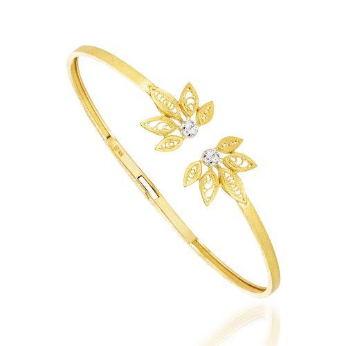 Luisa Rosas Armspange Gold mit Diamanten House of Filigree Armreif HPU5518.EP
