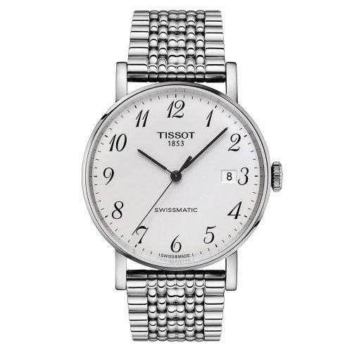 Tissot Everytime Swissmatic Automatik Herrenuhr 40mm Silber Edelstahl-Armband T109.407.11.032.00
