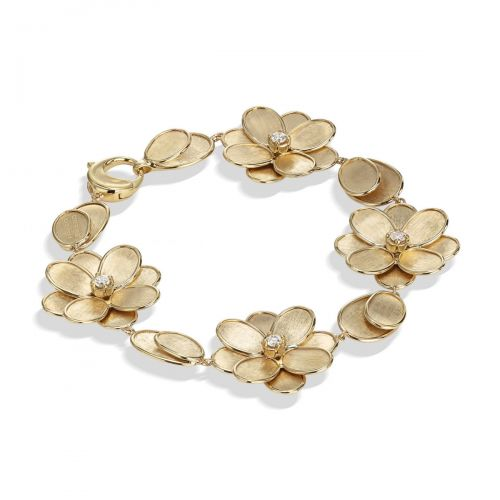 Marco Bicego Petali Armband Gold & Diamanten BB2441 B Y