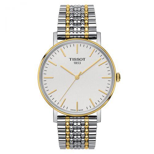 Tissot Everytime Medium Damen Herren Bicolor Edelstahl-Armband 38mm Quarz T109.410.22.031.00