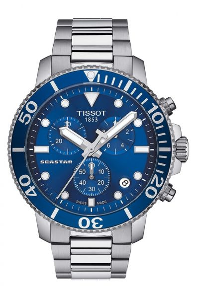Tissot Seastar 1000 Chronograph T120.417.11.041.00 Herren Quarz Taucheruhr