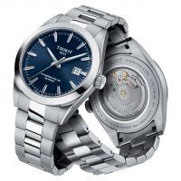 Tissot Gentleman Powermatic 80 Silicium Blau Edelstahl-Armband Herrenuhr 40mm T127.407.11.041.00 | Uhren-Lounge
