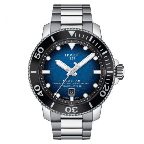 Tissot Seastar 2000 Professional Powermatic 80 Automatik Herrenuhr 46mm Blau T120.607.11.041.01