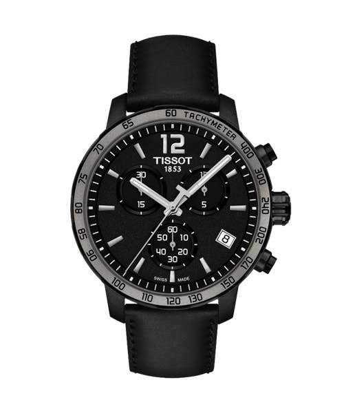 Tissot Quickster (T095.417.36.057.02) Chronograph mit Swiss Made Quartz-Uhrwerk