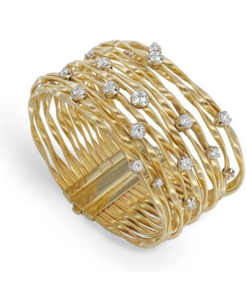 Marco Bicego Armband aus Gold mit Diamanten im Brillanten-Schliff Marrakech BG350-B   Schmuck Sale   Uhren-Lounge
