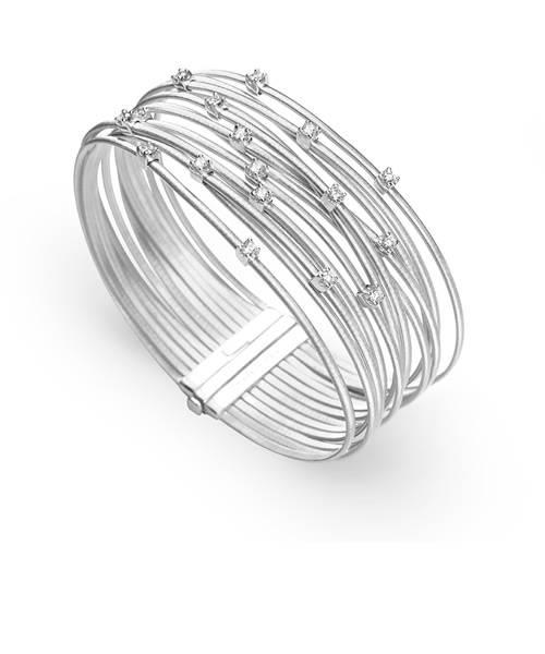 Marco Bicego Goa Armband Weißgold mit Diamanten BG687-B Armreif | Schmuck Sale | Uhren-Lounge