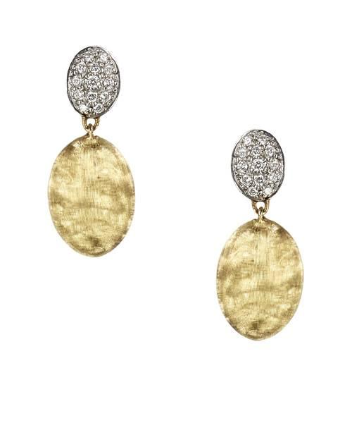 Marco Bicego Diamant Ohrringe Gelbgold 18 Karat  Siviglia OB1289-B | Uhren-Lounge