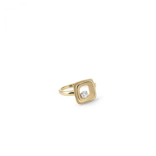 Annamaria Cammilli Ring My Way 750 Gelbgold mit Diamant GAN2423U | Uhren-Lounge.de