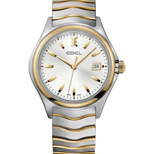 Ebel Wave Gent Herrenuhr Quarz 40 mm Bicolor Edelstahl & Gold 18 Karat 1216202