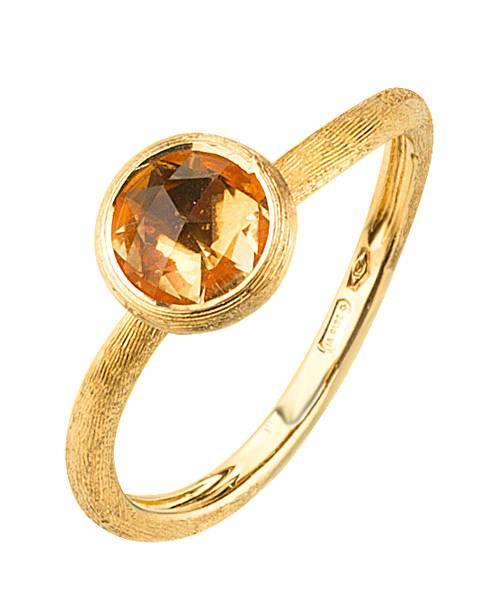 Marco Bicego Damen Ring aus 18kt Gelbgold mit Citrin AB471 QG01