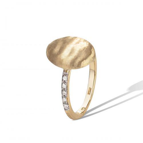 Marco Bicego Siviglia Ring Gold mit Diamanten AB610 B YW