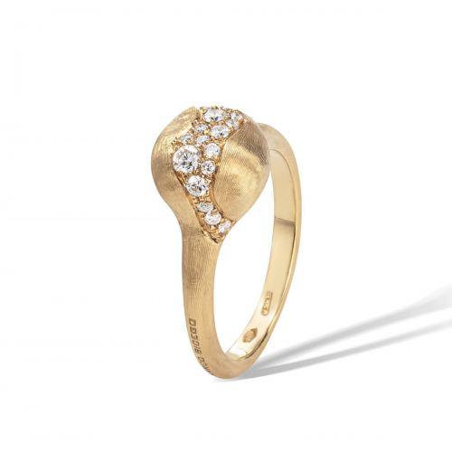 Marco Bicego Ring Gold mit Diamanten Pave Africa AB591 B Y