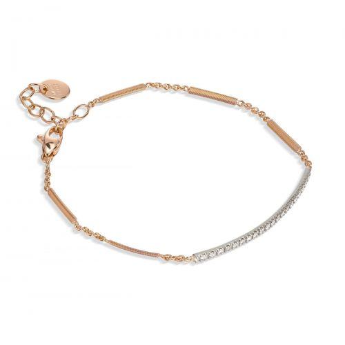 Marco Bicego Goa Armband Rosegold mit Diamanten Pavé BG713 B WR