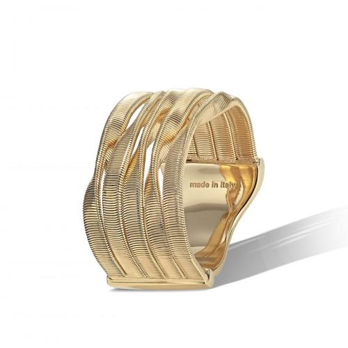 Marco Bicego Ring Gold 18 Karat 5 Stränge Marrakech AG157 Y
