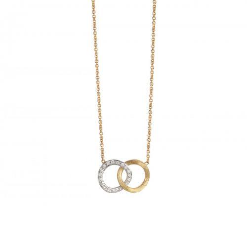 Marco Bicego Kette Jaipur Link Gold mit Diamanten CB1803 B YW