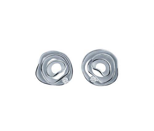 Annamaria Cammilli Dune Ohrringe Weißgold Diamanten GOR2443W
