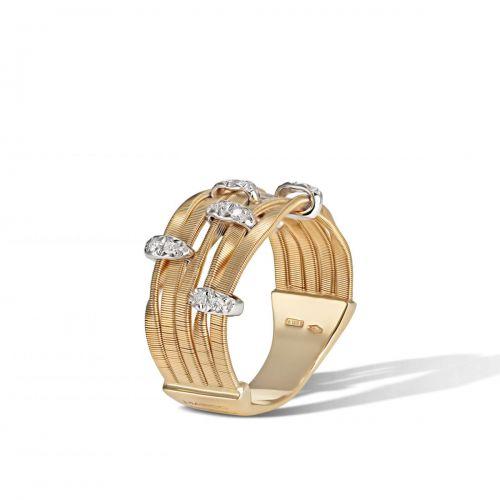 Marco Bicego Marrakech Onde Ring Gold mit Diamanten AG340-B