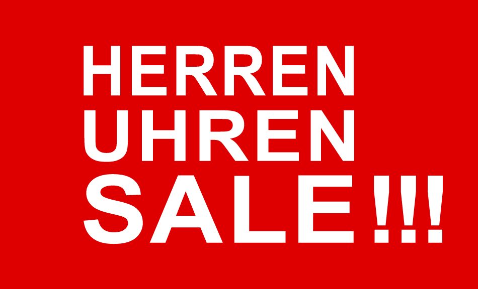 Herrenuhren Sale