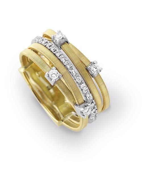 Marco Bicego Damenring Goa Gold Diamanten AG270-B2 | Schmuck Sale | Uhren-Lounge