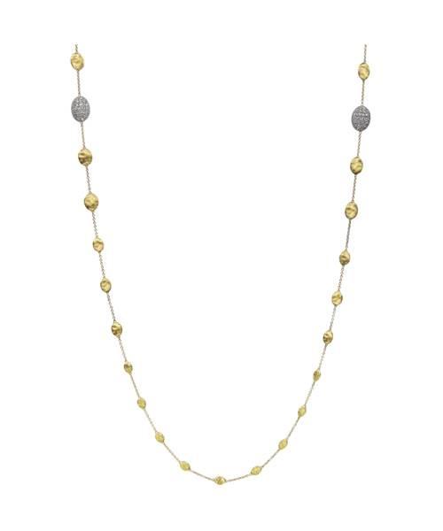 Marco Bicego Kette Gold mit Diamanten Siviglia Halskette CB1731-B   Uhren-Lounge